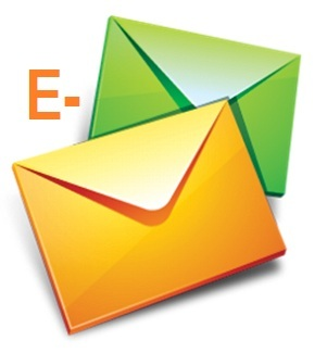 Email can be used as a first contact strategy