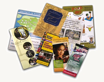 Flyers leaflets and brochures can provide supplemental assistance in securing new sales leads